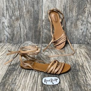 Breckelle's ankle strap sandals 8